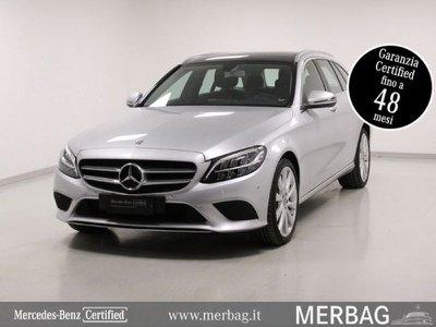 Mercedes-benz usata C 220 d S.W. Automatic Sport Plus diesel Rif. 11682266